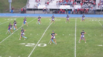 Blue Out Football Game, Benefit for Thelma Urban, Raider Band, Sports Stadium, Tamaqua, 9-4-2015 (121)