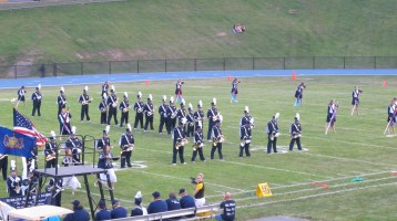 Blue Out Football Game, Benefit for Thelma Urban, Raider Band, Sports Stadium, Tamaqua, 9-4-2015 (123)