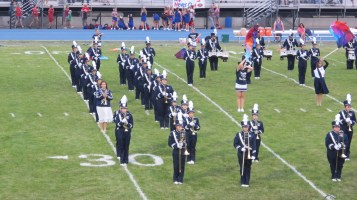 Blue Out Football Game, Benefit for Thelma Urban, Raider Band, Sports Stadium, Tamaqua, 9-4-2015 (132)