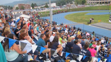 Blue Out Football Game, Benefit for Thelma Urban, Raider Band, Sports Stadium, Tamaqua, 9-4-2015 (160)
