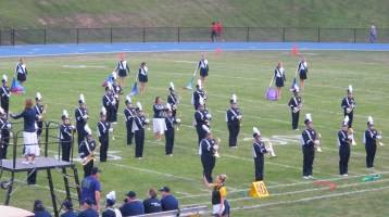 Blue Out Football Game, Benefit for Thelma Urban, Raider Band, Sports Stadium, Tamaqua, 9-4-2015 (170)