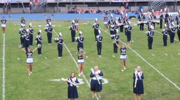 Blue Out Football Game, Benefit for Thelma Urban, Raider Band, Sports Stadium, Tamaqua, 9-4-2015 (178)