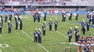 Blue Out Football Game, Benefit for Thelma Urban, Raider Band, Sports Stadium, Tamaqua, 9-4-2015 (193)