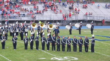 Blue Out Football Game, Benefit for Thelma Urban, Raider Band, Sports Stadium, Tamaqua, 9-4-2015 (210)