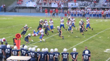 Blue Out Football Game, Benefit for Thelma Urban, Raider Band, Sports Stadium, Tamaqua, 9-4-2015 (328)