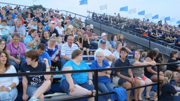 Blue Out Football Game, Benefit for Thelma Urban, Raider Band, Sports Stadium, Tamaqua, 9-4-2015 (370)