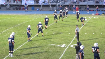 Blue Out Football Game, Benefit for Thelma Urban, Raider Band, Sports Stadium, Tamaqua, 9-4-2015 (384)