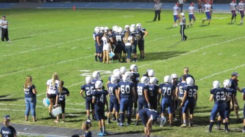 Blue Out Football Game, Benefit for Thelma Urban, Raider Band, Sports Stadium, Tamaqua, 9-4-2015 (433)