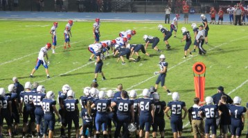 Blue Out Football Game, Benefit for Thelma Urban, Raider Band, Sports Stadium, Tamaqua, 9-4-2015 (447)