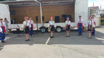 Kazka Ukrainian Folk Ensemble, during Parish Picnic, St. Mary's Ukrainian Catholic Church, McAd (56)