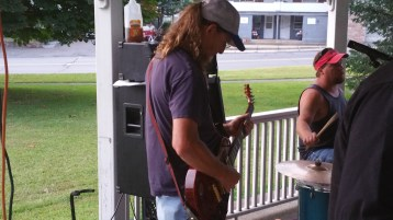 Music in the Park, Rodney Clouser Band, Kennedy Park, Lansford, 8-30-2015 (8)