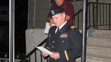 Sept. 11 Remembrance, Memorial Service, Coaldale VFW Post, Coaldale, 9-11-2015 (17)