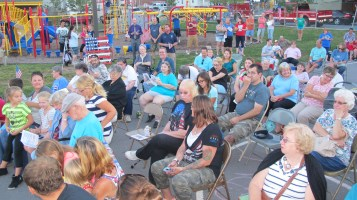 Sept. 11 Remembrance, Memorial Service, Jackie Jones, South Ward Playground, Tamaqua (102)