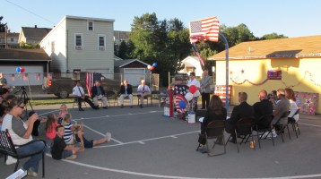 Sept. 11 Remembrance, Memorial Service, Jackie Jones, South Ward Playground, Tamaqua (15)