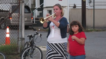 Sept. 11 Remembrance, Memorial Service, Jackie Jones, South Ward Playground, Tamaqua (161)