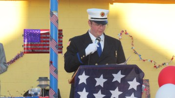 Sept. 11 Remembrance, Memorial Service, Jackie Jones, South Ward Playground, Tamaqua (35)