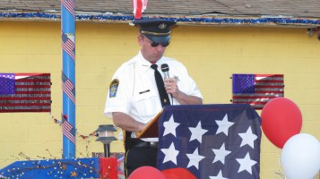 Sept. 11 Remembrance, Memorial Service, Jackie Jones, South Ward Playground, Tamaqua (77)