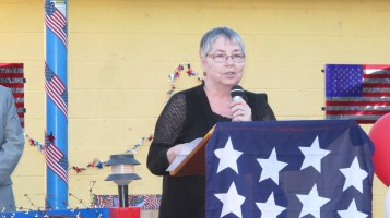Sept. 11 Remembrance, Memorial Service, Jackie Jones, South Ward Playground, Tamaqua (87)