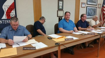 Tamaqua Borough Council Meeting, Borough Hall, Tamaqua, 9-1-2015 (14)