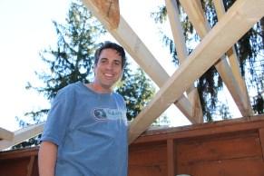 Building a Cabin from Camp Brainerd, Lower Owl Creek Reservoir, Tamaqua, 10-11-2015 (4)