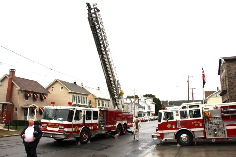 Dedication of New Fire Station, Pumper Truck, Boat, Lehighton Fire Department, Lehighton (5)