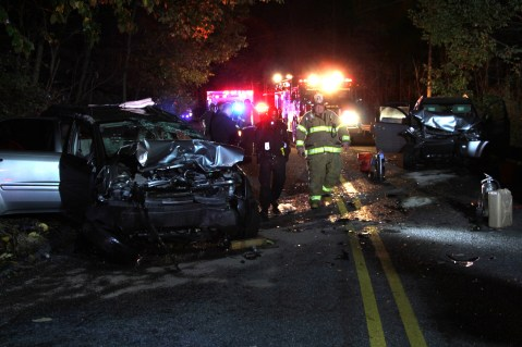 Driver Flees Head-On Crash During Following Police Pursuit in Ryan Township, 10-4-2015 (44)