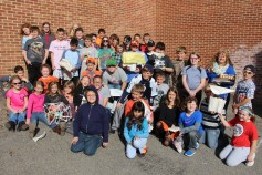 Egg Drop Challenge, 5th Grade, West Penn Elementary School, Tamaqua, 10-30-2015 (93)