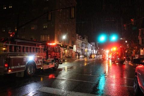 Fire Response, East Broad Street, Tamaqua, 10-28-2015 (1)
