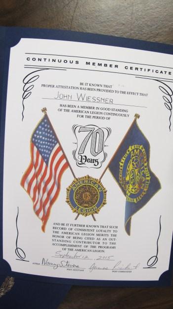 Installation of Officers, Coaldale American Legion, Coaldale, 9-12-2015 (55)
