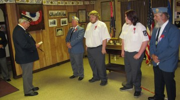 Installation of Officers, Tamaqua American Legion, Tamaqua, 9-12-2015 (24)
