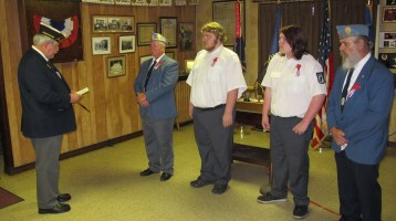 Installation of Officers, Tamaqua American Legion, Tamaqua, 9-12-2015 (26)