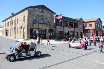Parade for New Fire Station, Pumper Truck, Boat, Lehighton Fire Department, Lehighton (119)