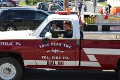 Parade for New Fire Station, Pumper Truck, Boat, Lehighton Fire Department, Lehighton (191)