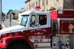 Parade for New Fire Station, Pumper Truck, Boat, Lehighton Fire Department, Lehighton (194)