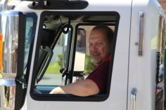 Parade for New Fire Station, Pumper Truck, Boat, Lehighton Fire Department, Lehighton (209)