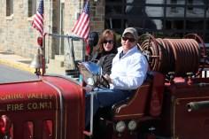 Parade for New Fire Station, Pumper Truck, Boat, Lehighton Fire Department, Lehighton (213)
