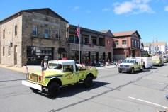 Parade for New Fire Station, Pumper Truck, Boat, Lehighton Fire Department, Lehighton (216)