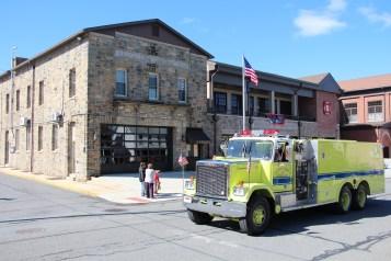 Parade for New Fire Station, Pumper Truck, Boat, Lehighton Fire Department, Lehighton (229)