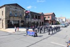 Parade for New Fire Station, Pumper Truck, Boat, Lehighton Fire Department, Lehighton (248)