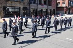 Parade for New Fire Station, Pumper Truck, Boat, Lehighton Fire Department, Lehighton (260)