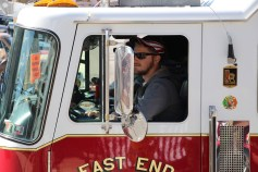Parade for New Fire Station, Pumper Truck, Boat, Lehighton Fire Department, Lehighton (348)