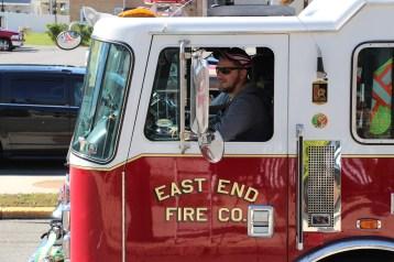 Parade for New Fire Station, Pumper Truck, Boat, Lehighton Fire Department, Lehighton (349)