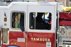 Parade for New Fire Station, Pumper Truck, Boat, Lehighton Fire Department, Lehighton (351)