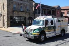 Parade for New Fire Station, Pumper Truck, Boat, Lehighton Fire Department, Lehighton (368)
