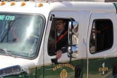 Parade for New Fire Station, Pumper Truck, Boat, Lehighton Fire Department, Lehighton (369)