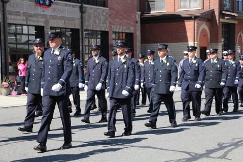 Parade for New Fire Station, Pumper Truck, Boat, Lehighton Fire Department, Lehighton (38)