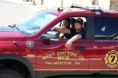 Parade for New Fire Station, Pumper Truck, Boat, Lehighton Fire Department, Lehighton (421)