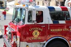 Parade for New Fire Station, Pumper Truck, Boat, Lehighton Fire Department, Lehighton (432)