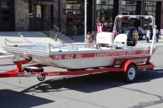 Parade for New Fire Station, Pumper Truck, Boat, Lehighton Fire Department, Lehighton (58)