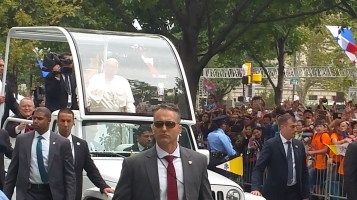 Pope Visit, Salvation Army volunteers, from Eric Becker, Philadelphia, Sept 2015 (149)